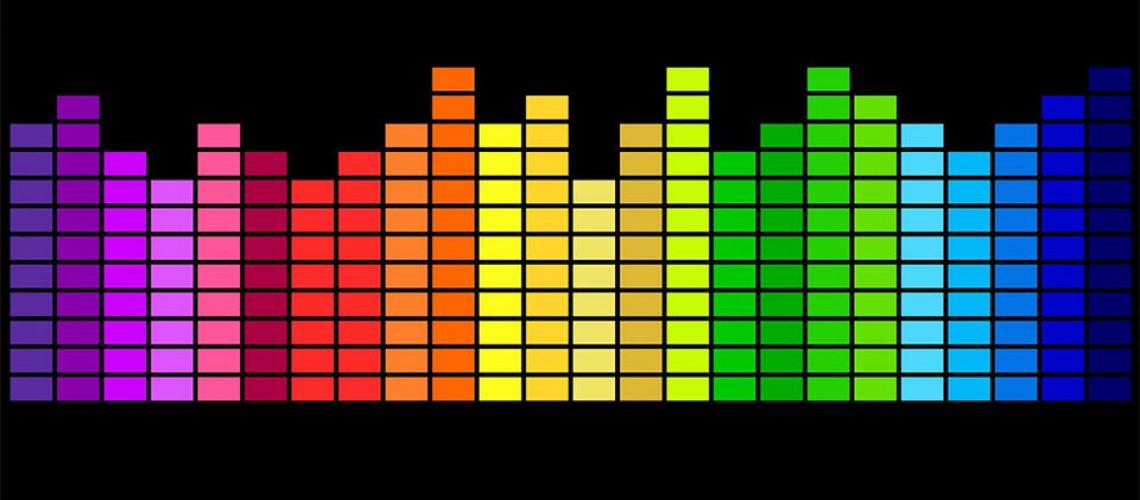 Equalizer in culorile curcubeului